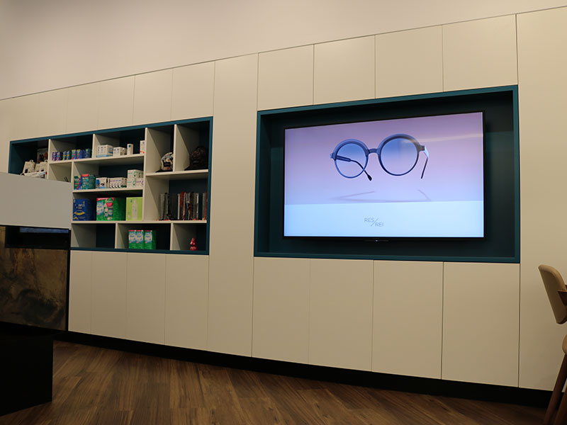 Digital-Signage-Melbourne-Optometry-Fit-Out