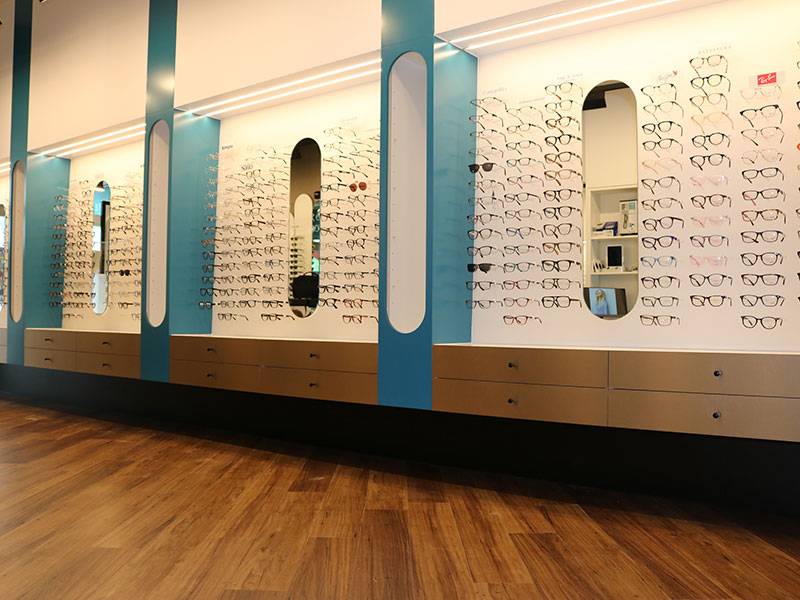 Melbourne-Fit-Out-Optometry-Wall-Joinery
